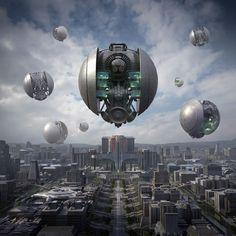 Extraordinary Future Worlds from Jie Ma