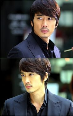 Song Seung heon. He is so very handsome! Love his eyes! Can't believe he is 36...