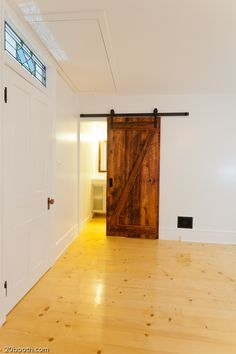 Most, if not all, interior doors will need this space saving feature. . . that and it looks kinda cool!