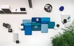 PLUS Modular Seating System by Francesco Rota for Lapalma - Design Milk Affordable Furniture, Cheap Furniture, Furniture Plans, Home Furniture, Outdoor Furniture Sets, Furniture Design, Outdoor Decor, Office Furniture, Walnut Furniture