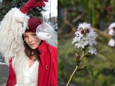 Outfit idea inspired by this lovely flower, the Bog Bean. December Issue of When Fashion and Nature Collide Mom Group, Comfort And Joy, Eco Friendly, Christmas Bulbs, December, Contemporary, Inspired, Holiday Decor, Outfit