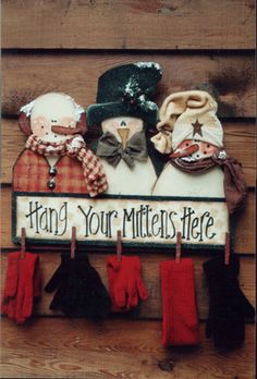 hang your mittens