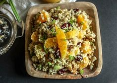 Orange Cranberry Quinoa Salad – a bright & summery side you can create all year long It's true, our beautiful summer is coming to an end. Don't hate me, I'm just stating the facts here. OK, you've got me I'm a fall fanatic, so I'm really not that sad, but I do find myself...