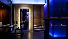 Hakkasan, Mumbai. Products: Aldabra - Italy, Lucifer Lighting - USA