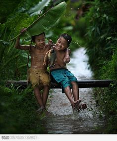 Pure Happiness, enjoying monsoon rain