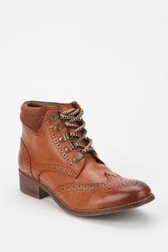 BDG Women's Brogue Hiker Ankle Boot at Urban Outfitters.