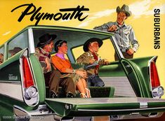 Classic Car Ads - Plymouth