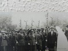 Guerra de África. Autoridades en Larache. 13-08-1927.