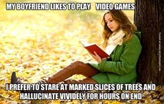 Totally me.  I don't have a boyfriend though.