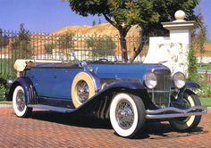 1932 Duesenberg SJ Dual Cowl Phaeton - (Duesenberg Automobile & Motors Company, Inc. Auburn, Indiana,1913-1937)