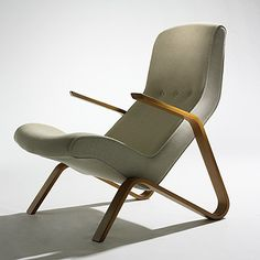 Eero Saarinen Grasshopper Lounge Chair reupholstered by the fine folks at Comfort Upholstery.