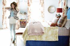 Samantha Knapp, Blue-Multicolored-Pink-Red Bedroom