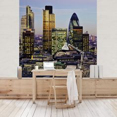 Vliestapete - London City - Fototapete Quadrat
