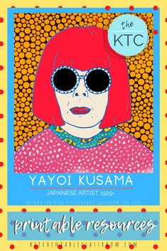 These digital resources provide everything you need to be ready to inspire your kiddos with the work of Yayoi Kusama. Yayoi Kusama, Artists For Kids, Art For Kids, Art Lessons Elementary, Elementary Schools, Jr Art, Art Education, Health Education, Physical Education
