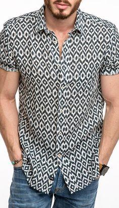 Benson Ikat Shirt 0315132