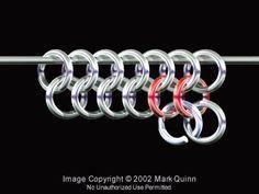 Basic chain maille tutorial jump rings: http://www.ecrafty.com/c-201-jump-rings-split-rings.aspx