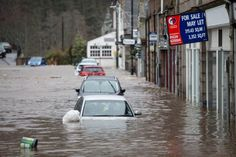 Underwater again: Properties and cars were besieged by floodwater in Ballater, Aberdeenshire, today as Storm Frank brought nearly a month's worth of rain to parts of Scotland, Cumbria and northern England. The rain has been accompanied by gusts of up to Floods In England, Northern England, Cumbria, Underwater, Picture Video, Britain, Scotland, River, Pictures