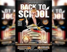 "Check out new work on my @Behance portfolio: ""Back To School Party Flyer"" http://be.net/gallery/32235097/Back-To-School-Party-Flyer"