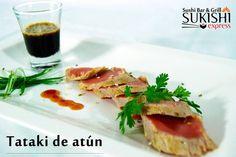 Mientras conversas y disfrutas con tus amigos esta noche deleitate con este delicioso Tataki de atún. Te esperamos!  #SukishiExpress #Entradas #Comida #Amigos #Panas #Momentos #Noche #Diversion #Compartir #Celebracion #Tataki #Atun #ComidaJaponesa #Sushi #Grill #Servicio #Atencion #Restaurante #Delicioso #Antojo #LosGuayos #Carabobo by sukishiexpress_