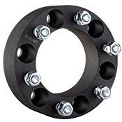 ECCPP 2Pc 2″ 51 MM Thick Hub Centric Wheel Spacers 6×5.5 or 6×139.7mm Adapters W/O Lip For Toyota Tacoma Tundra 4 Runner Black