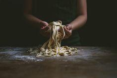 Knife Cut Noodles | le jus d'orange