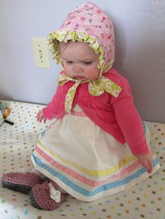 In her Easter bonnet, with all the frills upon it... by anniedanko, via Flickr