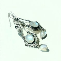 Elegant earrings 925 silver natural stone  Moonstone | Jewelry & Watches, Vintage & Antique Jewelry, Fine | eBay!