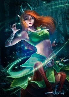 Enchantress, dota2
