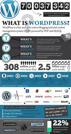 what is wordpress infographic