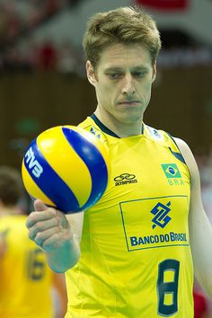 Murilo of Brazil Volleyball Team  Fot. Mariusz Pałczyński / http://www.facebook.com/MariuszPalczynskiPhotography