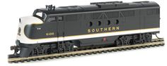 Bachmann HO Standard Line FT Diesel Locomotive, with E-Z App Train Control, Southern No. 6100
