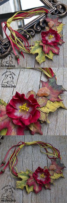 Колье Очарованье Осени из кожи и сердолика. В нем вы будете Королевой Осени! #колье_из_кожи #кожаное_колье #осеннее_колье #осенний_гардероб #leather_necklace #autumn_necklace #autumn_closet #gift_for_her