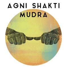 """Sanskrit for """"fire energy seal,"""" Agni Shakti Mudra is a hand gesture that can be practiced during meditation in order to stimulate, maintain or contain fire energy within. Meditation Art, Chakra Meditation, Meditation Quotes, Sanskrit, Hand Mudras, Shri Yantra, Yoga Mantras, Krishna Painting, Fire Powers"""