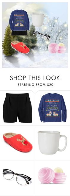 """""""Christmas Morning outfit"""" by cooperin on Polyvore featuring Boohoo, Corgi, New Directions, Juliska and Eos"""