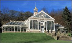 Wow!  Cast Iron Victorian glass house (1902) Blackburn. My favorite dream are of huge glass greenhouses turned into my art/ work space. Im not much of a green thumb.