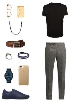"""House of Madalani"" by houseofmadalani on Polyvore featuring Brunello Cucinelli, Dsquared2, Givenchy, Movado, Tomasz Donocik, Thom Browne, Will Leather Goods, Julius, Black Dakini and men's fashion"
