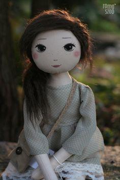 Oliwia – roma z Zimowego Gaju, handmade doll by romaszop