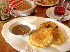 Düsseldorf Café Kleinhaus Frühstück Unterbilk Pancakes