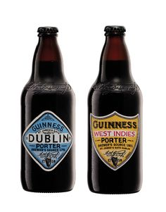 Guinness premium porters. These are absolutely stunning. Need to buy one set for the shelf and one for the fridge!