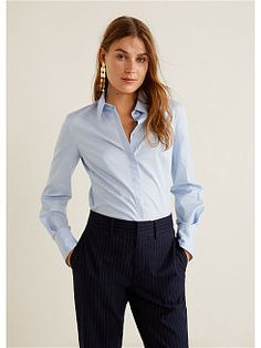 97 Best and Stylish Business Casual Work Outfit for Women - Biseyre Trajes Business Casual, Business Casual Outfits For Women, Office Outfits Women, Business Outfits, Business Attire, High Street Fashion, Formal Sweater, Camisa Slim, Modern Street Style