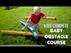 BABY OBSTACLE COURSE | Kids Compete! - YouTube