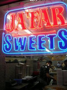 Jafar Sweets Old city of Jerusalem. KNAFEH U BAS!! Knafeh heaven, done the authentic Palestinian way :)
