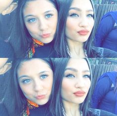 Safaa and Sarooha Members Of One Direction, Madison Beer, Zayn Malik, Best Friends, Sisters, Turquoise, Beauty, Tutorials, Girls