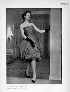 Moda Italiana / Roberto Capucci 1956
