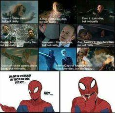 Oh no!... poor Spidey :(