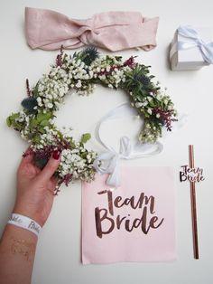 JGA, Team Bride, Blumenkranz Team Bride, Wreaths, Weddings, Inspiration, Small Thank You Gift, Floral Wreath, Biblical Inspiration, Door Wreaths, Wedding