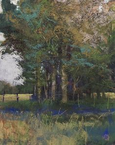 August Shade by Tom Christopher Pastel ~ 20 x 16