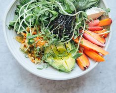 Summer Love: We're Crushing on This Fermented Bowl With Miso-Kefir Dressing - The Chalkboard