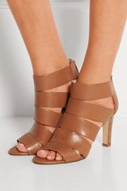 Sandales à talons en cuir Gisele
