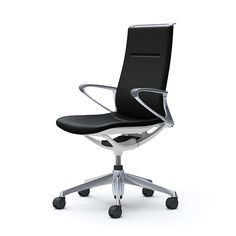 Okamura (Japan)Beauty and comfort in equal measure. Office Furniture, Furniture Design, Office Chairs, Work Chair, Good Posture, Three Dimensional, Interior Design, Home Decor, Leather